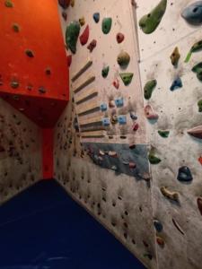 باشگاه ورزشی موج - صخره نوردی داخل سالن