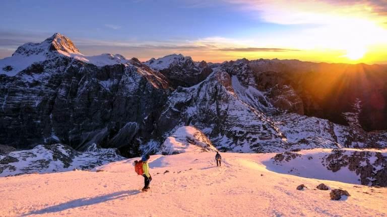تمرین کوهنوردی
